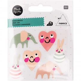 Rico Design Iron-On Patch Set - Baby Girl