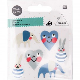 Rico Design Iron-On Patch Set - Baby Boy
