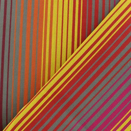 Tissu toile Plein Air Bandol (320cm) - jaune x 10cm