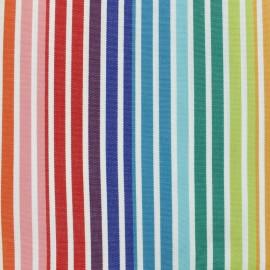 Tissu toile Plein Air Dralon® Fréjus (320cm) - Arc en ciel x 10cm