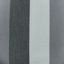Tissu toile Plein Air Boston (320cm) - gris x 10cm