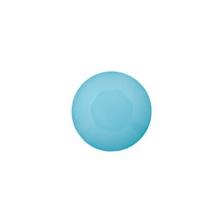 Bouton Polyester Damantis 9 mm - Bleu Artique
