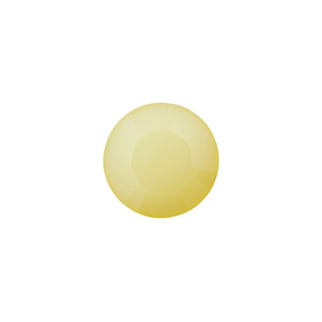 9 mm Polyester Button - Topaz Yellow Damantis