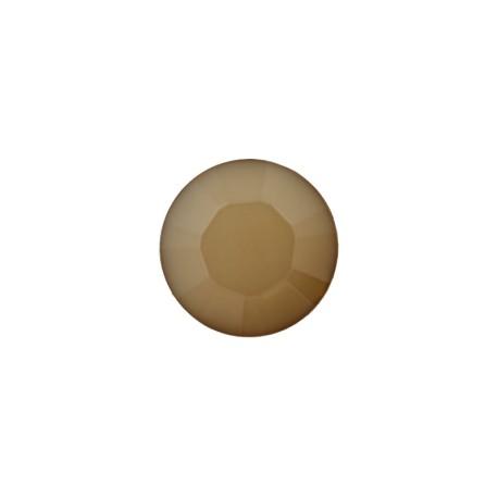 9 mm Polyester Button - Beige Damantis