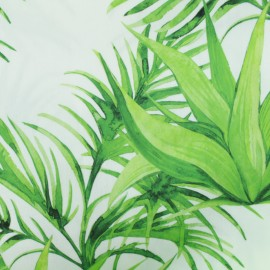 Special Outdoor canvas fabric (160cm)- White Sumatra x 10cm