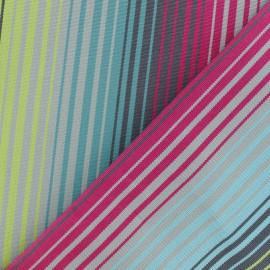 Tissu toile Plein Air Bandol (320cm) -Turquoise x 10cm
