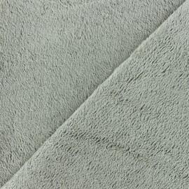 Sponge Zorb fabric - light grey Baby bamboo x10cm