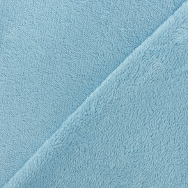 Sponge Zorb fabric - light blue Baby bamboo x10cm