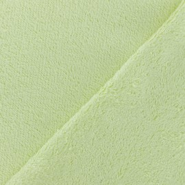 Sponge Zorb fabric - light soft green Baby bamboo x10cm