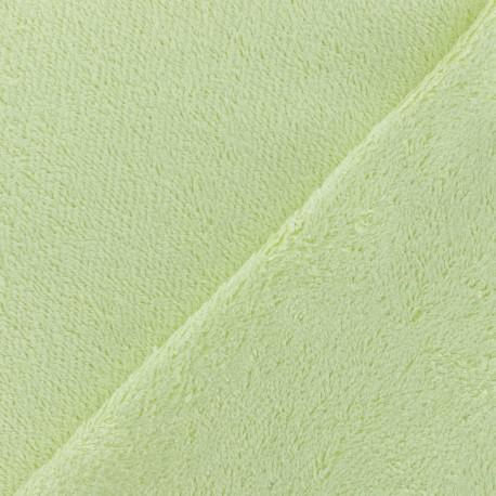 Sponge Zorb fabric - light soft green Baby bamboo x10cm