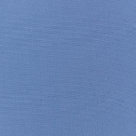 Plain Crepe fabric - light blue x 10cm