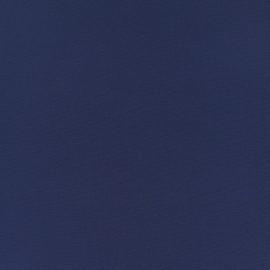 Plain Crepe fabric - deep blue x 10cm