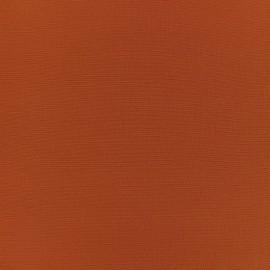 Tissu crêpe uni - citrouille x 10cm