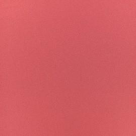 Blouse Crepe Fabric - nasturtium pink x 10cm