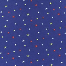 Tissu jersey Circus Star - bleu x 10cm