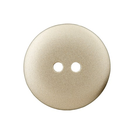 Metallic Aspect Polyester Button - Gold Futuris