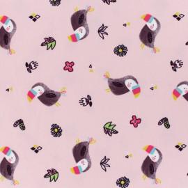 Tissu jersey Alma & Nacho - rose x 10cm
