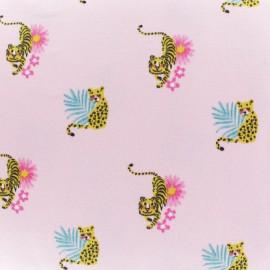 Cotton jersey fabric - Pink Alma & Nacho x 10cm