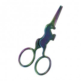 10 cm Locau classic embroidery scissors - silver