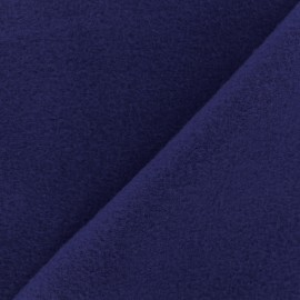 Plain Cotton security blanket - Indigo blue x 10cm