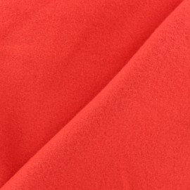 Plain Cotton security blanket - Red x 10cm