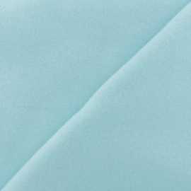 Plain Cotton security blanket - Ice blue x 10cm