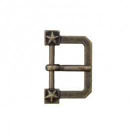 20 mm Metal Belt Buckle – Bronze Glory