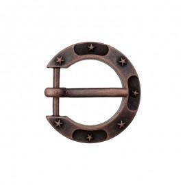 Boucle Métal Fer à Cheval 15 mm - Cuivre ancien