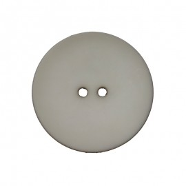 Polyester Button - Grey Ultra Thin