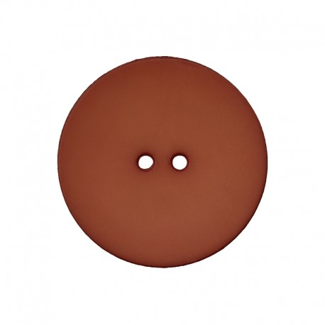 Polyester Button - Brown Ultra Thin