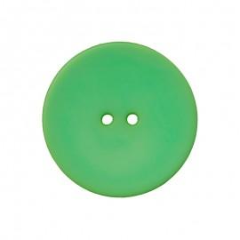 Bouton Polyester Ultra Plat - Vert