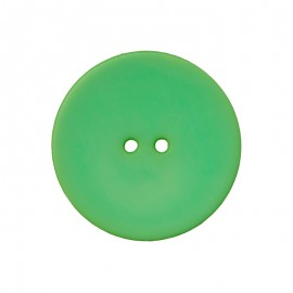 Polyester Button - Green Ultra Thin