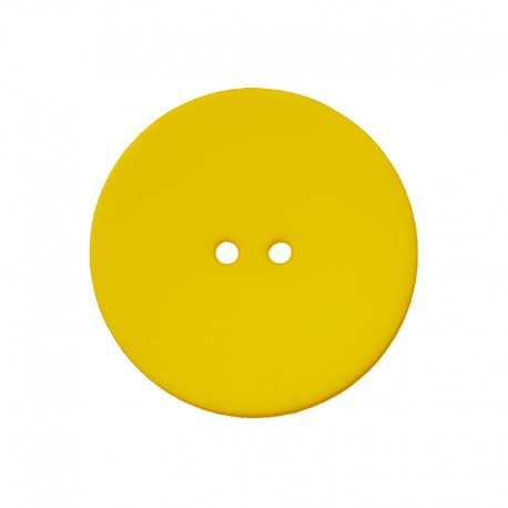 Polyester Button - Yellow Ultra Thin