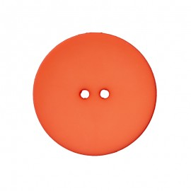 Polyester Button - Coral Ultra Thin