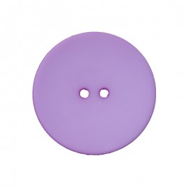Polyester Button - Lilac Ultra Thin
