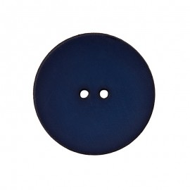 Polyester Button - Midnight Blue Ultra Thin