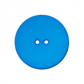 Polyester Button - Blue Ultra Thin