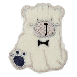 Thermocollant Petit Ours Assis - Bleu