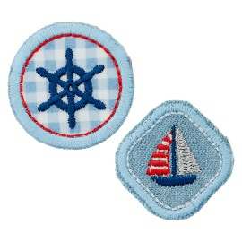 La Marine Collection Iron-On Patch - Helm