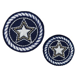 La Marine Collection Iron-On Patch - Admiral