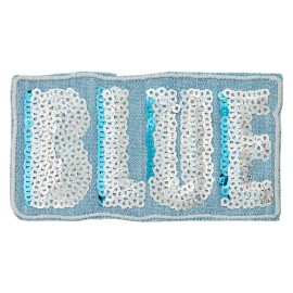 La Marine Collection Iron-On Patch - Blue