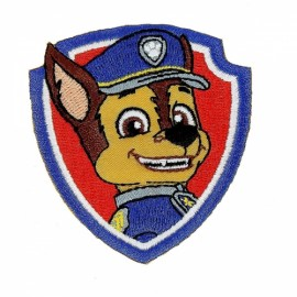 Paw Patrol Iron-On Patch - Chase