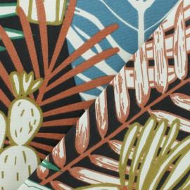 Tissu Toile de coton Tara - noir x 50cm