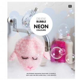 """Livre """"Creative Bubble - Neon Colours"""""""