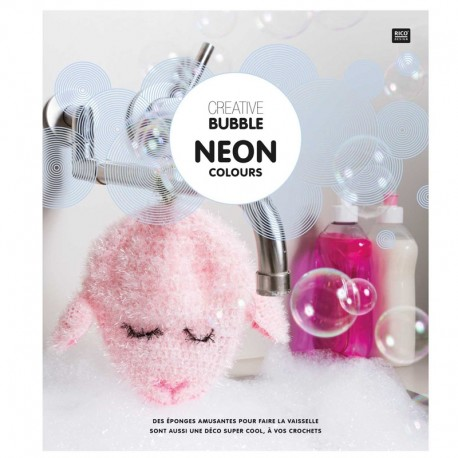"Book ""Creative Bubble Neon Colours"""