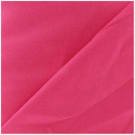 Tissu Coton uni fuchsia