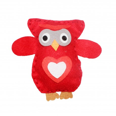 Kit Ozzy le Hibou - Rouge