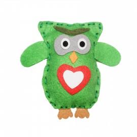 Kit Ozzy the Owl - Green