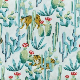 ♥ Coupon 20 cm X 150 cm ♥ Tissu coton cretonne Bengali - blanc