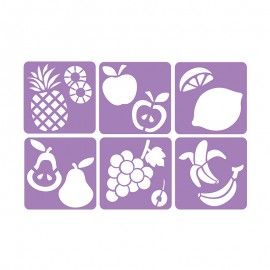 6 Stencils Pack 14 x 14 cm - My Orchard